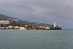 Yalta 6 (Alexxx1979) Tags: city sea summer lighthouse july ukraine crimea yalta blacksea 2012