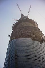 Shanghai (JBB | MK00) Tags: china street city sky urban architecture 35mm smog shanghai sony cctv fujian pudong nex lujiazui f17 apsc nex5n