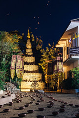 New Years Eve (Nomadic Vision Photography) Tags: winter thailand religion culture celebration newyearseve chiangmai custom travelphotography jonreid northernthai tinareid nomadicvisioncom