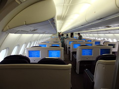Malaysia Airlines A380: Business Class (stardex) Tags: plane mas ...