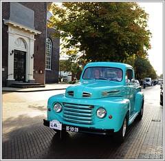 1949 Ford F1 Pick-Up (Ruud Onos) Tags: ford pickup f1 1949 fordf1pickup 1949fordf1pickup be5928 oldtimerfestivalsgravenzande breejedurpoldtimerfestival classiccarssgravenzande breejedurpoldtimerfestivalsgavenzande