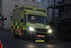 Dazzling Ambulance (Coco of Jersey) Tags: uk fire islands police ambulance jersey service states emergency channel response
