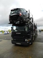 KX09NHB Autologic Scania P420 Car Transporter (graham19492000) Tags: cartransporter eddiestobart autologic scaniap420 kx09nhb
