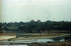Agra Red Fort आगरा का किला Uttar Pradesh India Taj Mahal and Yamuna River View Feb 1990 082 (photographer695) Tags: taj agra mahal india red fort आगरा का किला uttar pradesh yamuna river view feb 1990