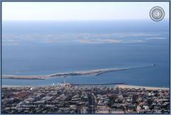 Dubai, United Arab Emirates (Wioletta Ciolkiewicz) Tags: city panorama port puerto dubai uae ciudad arabic stadt emirate unitedarabemirates ville citt zea miasto  duba theworldislands vereinigtearabischeemirate  dubaj emiratiarabiuniti zjednoczoneemiratyarabskie  emiratosrabesunidos wiolettaciolkiewicz