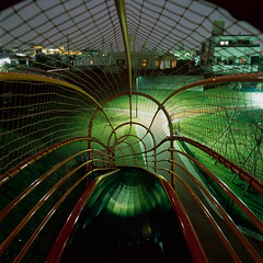 (akira ASKR) Tags: longexposure night fuji slide okinawa 沖縄 provia100f 夜 hasselblad500cm 長時間露光 すべり台 rdpiii uruma うるま市 distagoncf50mmfle