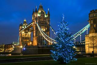 London - Christmas at Tower Bridge