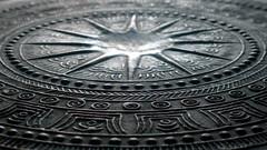Đông Sơn drum (xia.aike) Tags: china metal star asia drum panasonic backlit yunnan metalworking eastasia geometricpattern honghe musicalinstrumentphotography dongsondrum panasonicdmclx5 broncedrum 夏爱克 xiaaike