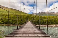 Bru (Robin Lund) Tags: bridge norway river norge bro rana nordnorge bru dunderlandsdalen elv nordland gangbru ranelva solhaugnaturreservat