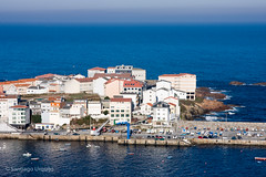 Caion (Zalacain) Tags: city blue urban coast harbor fishing spain galicia atlanticocean acorua