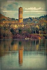 Monasterio de Rueda, desde la otra orilla. (Nati Almao1) Tags: