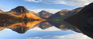 Reflecting Wastwater Panorama