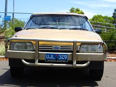 1984 Ford XF Falcon GL wagon (RS 1990) Tags: ford station wagon beige january tan 1984 falcon adelaide 30th thursday southaustralia rare gl roofrack 2014 xf uncommon bullbar