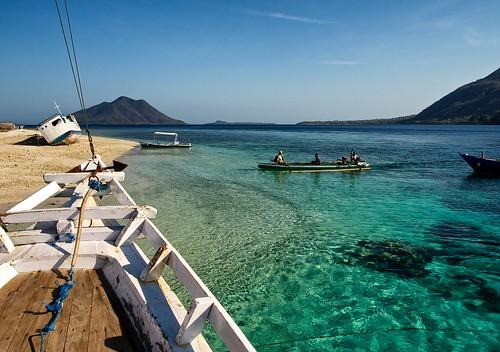 Arrival on Kepa Island