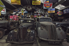 A Man's World (Julicious Photography) Tags: auto old car vintage antique alt decay garage eerie retro urbanexploration oldtimer rotten desolate derelict urbex werkstatt autowerkstatt 5dmarkii royalgr {vision}:{outdoor}=0626