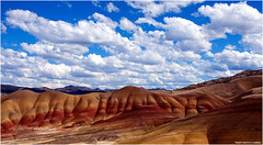Painted Hills - John Day Fossil Beds National Monument - Wheeler County, Oregon (West County Camera) Tags: platinumheartaward mygearandme mygearandmepremium mygearandmebronze mygearandmesilver mygearandmegold mygearandmeplatinum mygearandmediamond ringexcellence dblringexcellence allnaturesparadise magicmomentsinyourlife