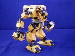 Brute 2.0 (Canis Arms Corporation) Tags: lego mecha mech battletech moc heavylifter industrialmech
