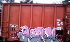 JERX (MC. Squared) Tags: train graffiti moms kts freight leder jerx
