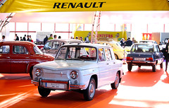 Renault 8. Fabricado entre 1965 y 1976.