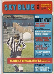 Coventry City vs Newcastle - 1971 (The Sky Strikers) Tags: road city newcastle mac united hill jimmy inspired super greatest coventry ever printed programme highfield