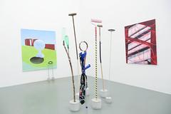photoset: Eschenbachgasse: Galerienrundgang - Steinek, Meyer Kainer, Krobath, mezzanin, Krobath (26.3.2014)