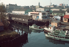 C.N.R. Pier at Main Street view to West, Sept 27 1965, City of Vancouver (vancouverbyte) Tags: vancouver oldvancouver vancouverarchives vintagevancouver