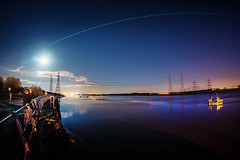 ISS, There, Live on Mars (ibriphotos) Tags: longexposure moon selfportrait scotland boat stack nasa fullmoon fisheye multipleexposure sp astrophotography pylons iss riverforth clackmannanshire alloa theshore internationalspacestation alloaharbour aroundtheforth
