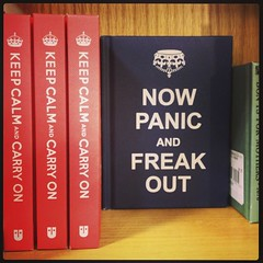 NOW PANIC and FREAK OUT (moohoorta) Tags: ios71 iphone4s instagram iphone iphonegraphy square 2014 april 11th 140411 friday april11th img0482 books public publish share bookstorebookpeople