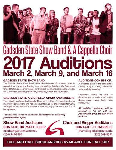 2017 Auditions