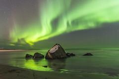 Northern Lights (Gies!) Tags: aurora borealis northern lights auroraborealis landscape loftoten norway 2017 green waves