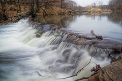 Crestwood Falls (JMS2) Tags: waterfall spillway dam blurred nature lake river cascade landscape scenic water bronxriver falls sony