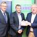 Tim Fen, IHF CEO,  Niall Lenihan, Net Affinity and Joe Dolan, IHF President