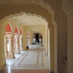 India (Jaipur-City Palace) A magnificient archway!! thumbnail