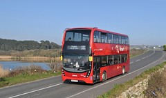 College Tinner (jep2510) Tags: uk england cornwall public transport bus buses red rural lake