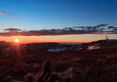 Totally worth it... (Double.D - Photography) Tags: sunset sonnenuntergang feldberg clouds wolken canon canon600d explore landschaft landscape doubled sky himmel sun mountains evening hiking outdoor sigma 1750mm