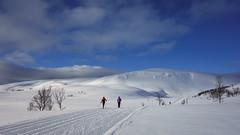 Winter life (Reidar Trekkvold) Tags: koven kvæfjord landscape natur nature nordnorge norway rx100 skiing snow snø sony troms vinter winter outdoor skyer clouds