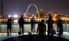 St Louis Arch (Texas Tongs) Tags: skyline stadium louis busch river mississippi st photographers