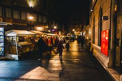 Belgrade night (Master Iksi) Tags: night belgrade beograd serbia srbija canon city light urban street