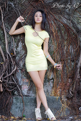 Girl (SU QING YUAN) Tags: model girl female legs tree beauty beautiful pretty young sexy face hair portrait a99 sony 135za sonnart18135