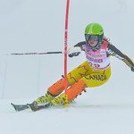 April 15th, 2017 - Cassidy Gray of Canada takes second place in the U16 McKenzie Investments Whistler Cup Womens Slalom- Photo By Scott Brammer - coastphoto.com