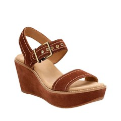 "Clarks Aisley Orchid sandal dark tan • <a style=""font-size:0.8em;"" href=""http://www.flickr.com/photos/65413117@N03/33226372340/"" target=""_blank"">View on Flickr</a>"