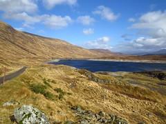 8587 Loch Quoich (Andy - Busyyyyyyyyy) Tags: 20170319 ccc clouds ggg glen glenquoich lake lll loch lochcuiach lochquoich mmm mountains qqq reservoir rrr scotland sunny water www