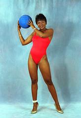 Karin Philadelphia Studio Red Swimwear Aug 1994 014 (photographer695) Tags: karin philadelphia studio red swimwear aug 1994