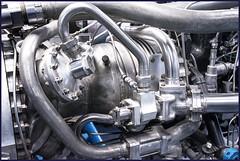 "Close Up Jet Engine (Detail) (""DavidJHiom"") Tags: jetengine jet plane aeroplane dehavilland hatfield aero turbojet sirfrankwhittle engine metal engineering britishaerospace goblin35 turbo aircraft detail texture"