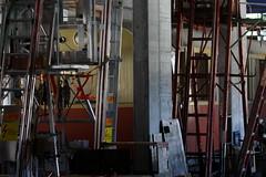 Triebwagen BDe 2/4 Nr. 11 der BLM Bergbahn Lauterbrunnen – Mürren ( Baujahr 1913 - Hersteller SIG MFO - Schmalspur Meterspur Historisches Triebfahrzeug ) am Bahnhof Grütschalp im Berner Oberland im Kanton Bern der Schweiz (chrchr_75) Tags: albumzzz201703märz märz 2017 hurni christoph chrchr chrchr75 chrigu chriguhurni schweiz suisse switzerland svizzera suissa swiss kantonbern bern kanton hurni170316 albumbahnenderschweiz201716 albumbahnenderschweiz schweizer bahnen eisenbahn bahn blm bergbahn lauterbrunnen mürren berner oberland schmalspur schmalspurbahn meterspur