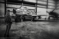 Pima Air & Space Museum, AZ (mcleod.robbie) Tags: black white airplane museum moody flight woman girl automotive wwii air