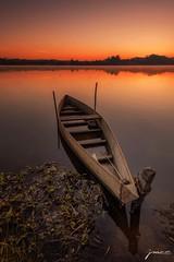 Orange hour (José M.S. Moreira) Tags: lake landscape light fermentelos portugal paisagem pateira sunrise sunrisephoto ngc