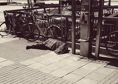 PART ONE --- at the bottom! (From The Streets Of Hamburg) Tags: obdachlos homeless fromthestreetsofhamburg penner strase streetsleeping street