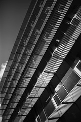 Flash (marktmcn) Tags: building exterior sunlit windows screens sunlight upwards looking up cannon wharf yeoman street london se8 blackandwhte monochrome d610 nikkor reflected reflection greenland place