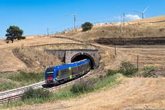 Un polacco al sud (Damiano Piovanelli) Tags: treno treni trenitalia fs ferroviedellostato atr220 pesa atr